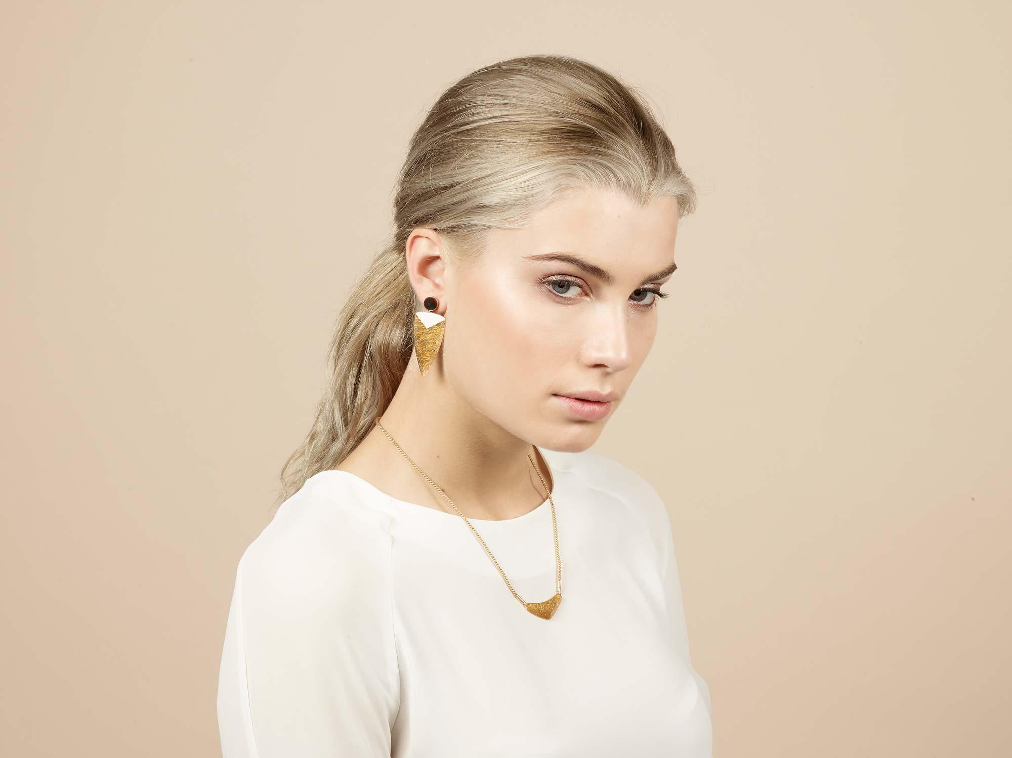 PrimaMateria-trigon-earring-emperor'sgold