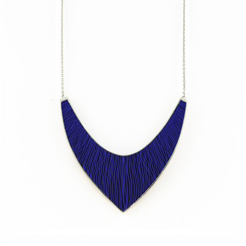 Ketting-Large-zilver-blauw