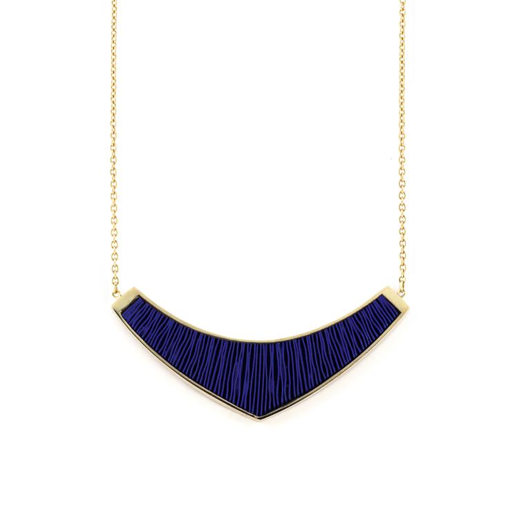 Ketting-medium-verguld-blauw