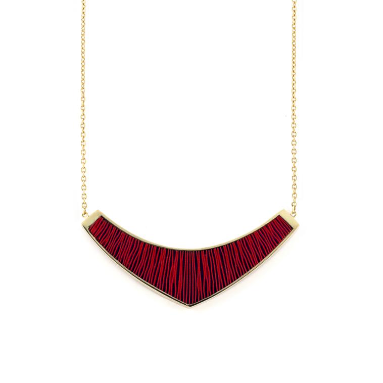 Ketting-medium-verguld-rood