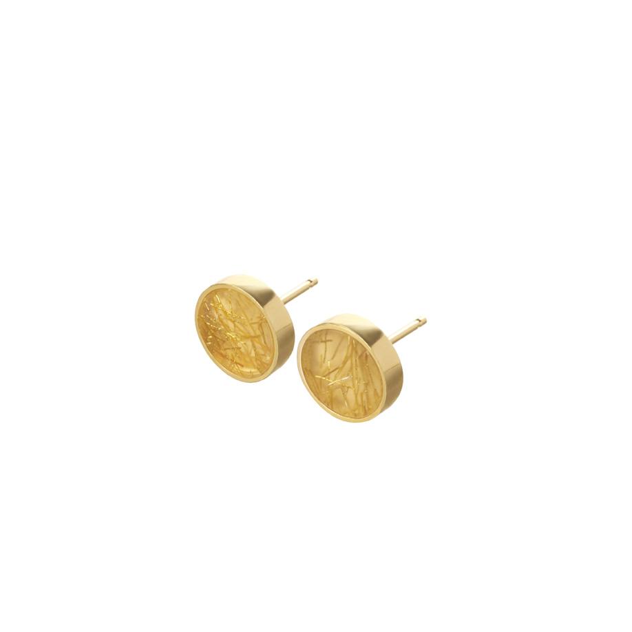 PrimaMateria-earring-disc-mini-emperor'sgold