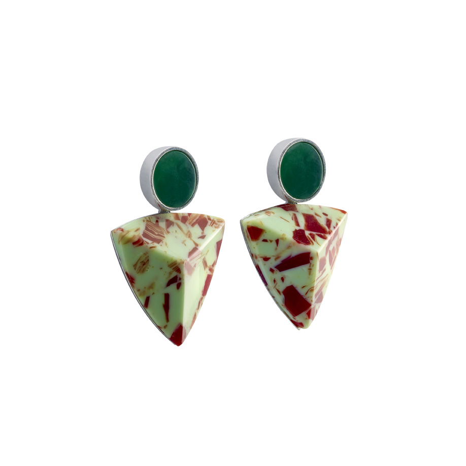 PrimaMateria-earring-trigon-small-redolive-eden