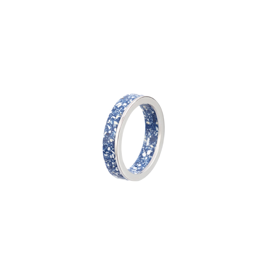 PrimaMateria-ring-stack-silver-delftblue