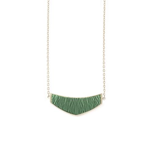ketting-mini-zilver-groen