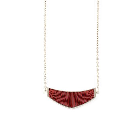ketting-mini-zilver-rood