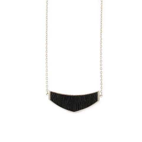 ketting-mini-zilver-zwart