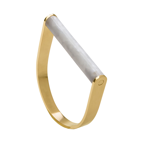 Armbandstaaf-whitesque-geel