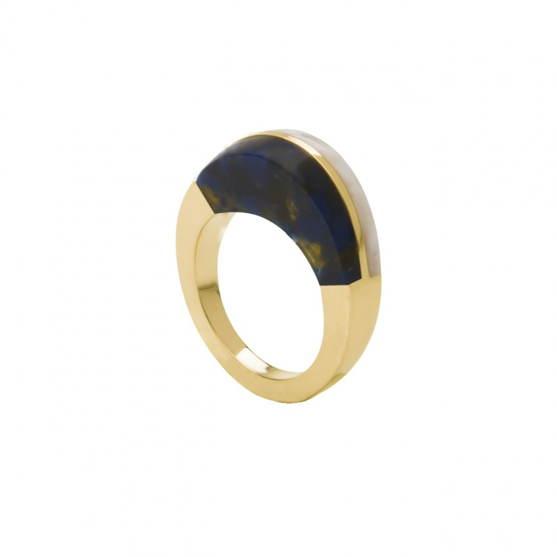 ring5-blackishyellow&whitesque-geel