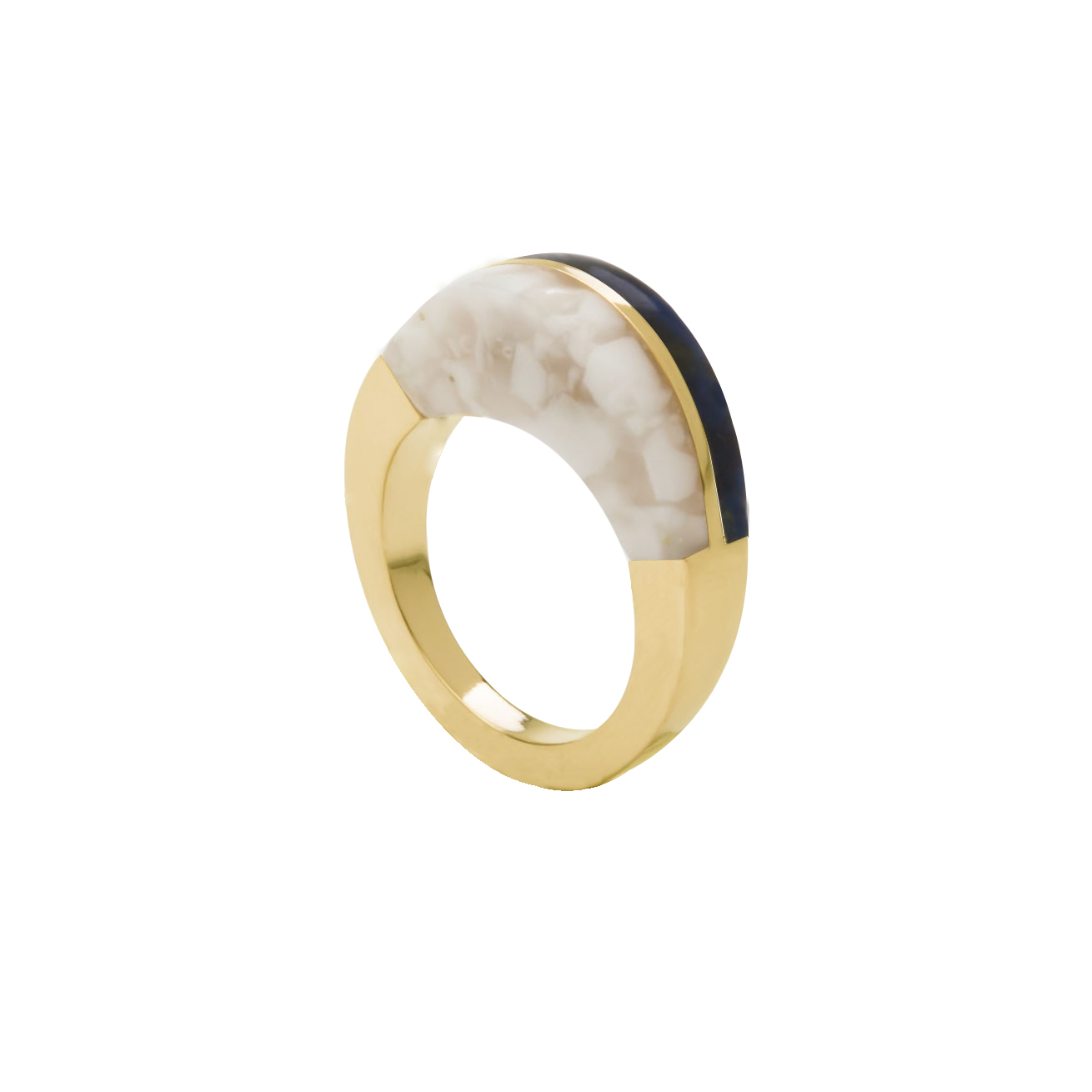 ring5-whitesque&blackishyellow-geel