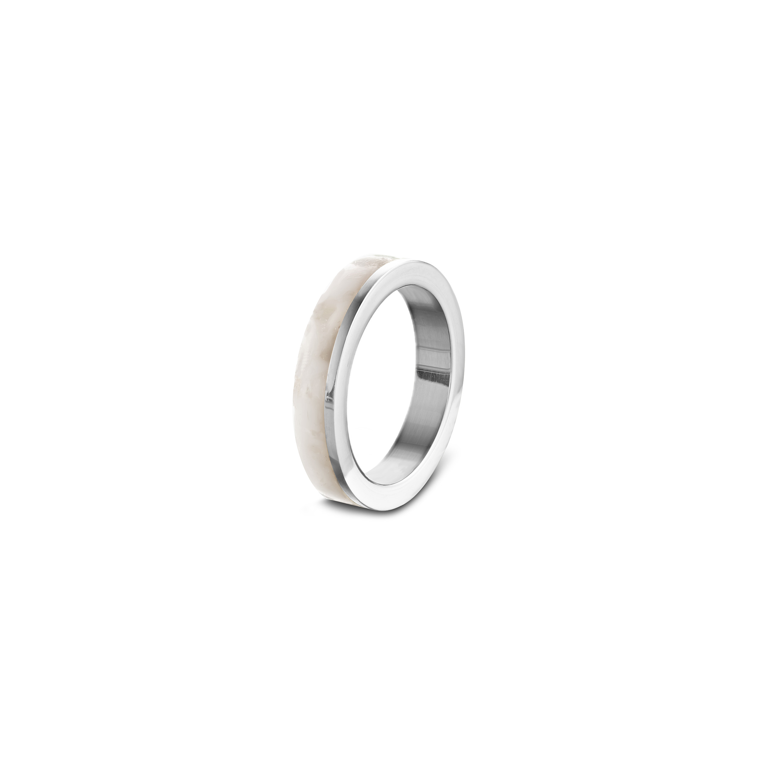 Stackring_whitesque_zilver