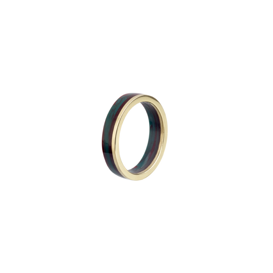 PrimaMateria-ring-stack-gold-humid