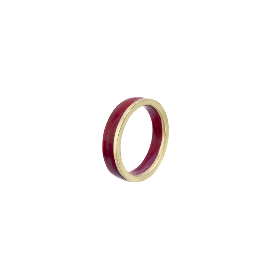 PrimaMateria-ring-stack-gold-plum