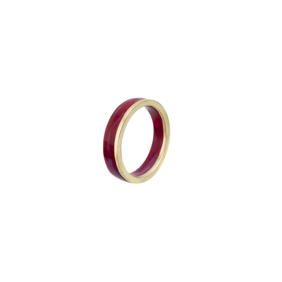 PrimaMateria-ring-stack-gold-plum