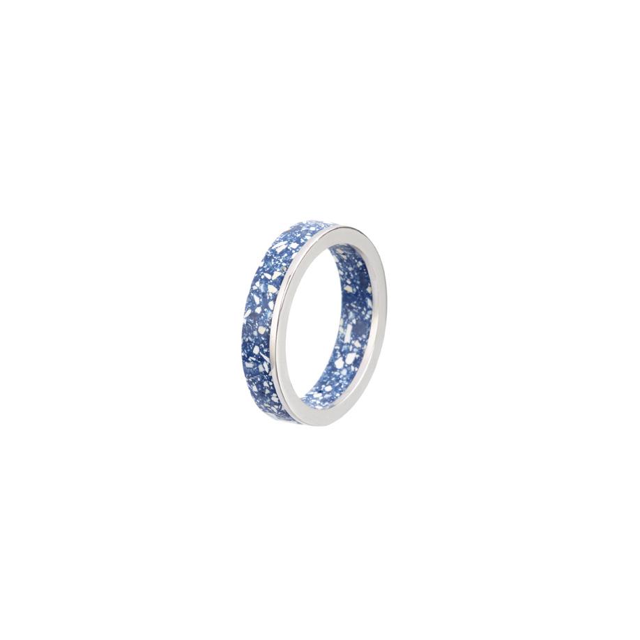 PrimaMateria-ring-stack-silver-delftblue